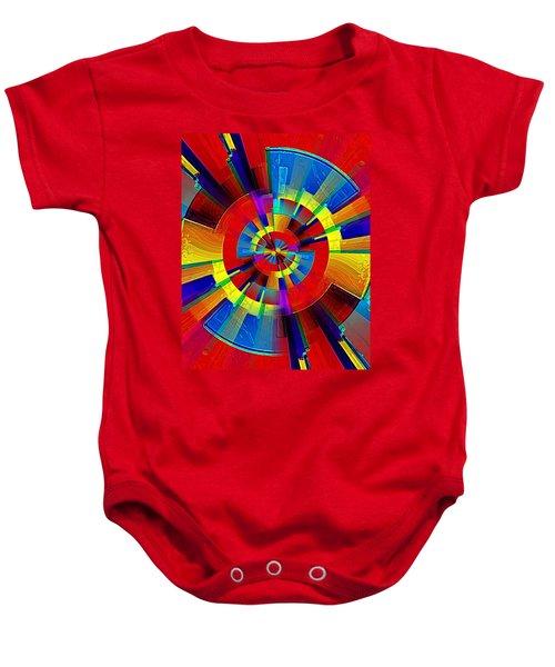 My Radar In Color Baby Onesie