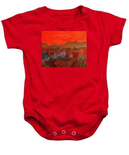 New Mexico Dreaming Baby Onesie
