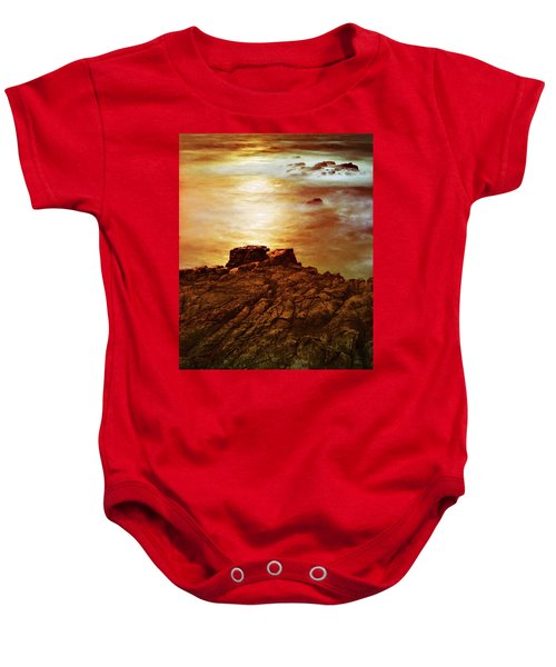 On The Edge Baby Onesie