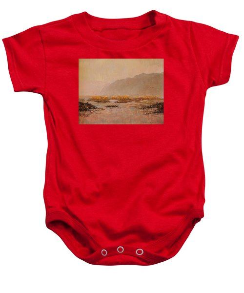 Oyster Beds Emerging Baby Onesie