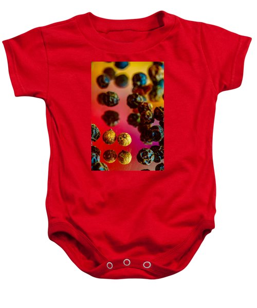 Peppercorns Baby Onesie