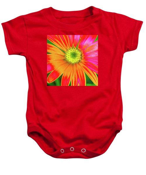 Pop Art Osteospermum 2 Baby Onesie