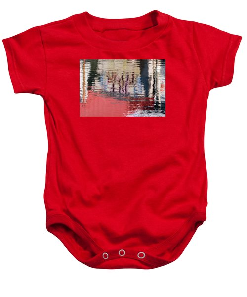 Port Reflections Baby Onesie