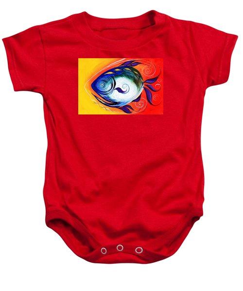 Positive Fish Baby Onesie