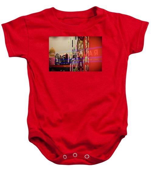 Radio City Reflection Baby Onesie