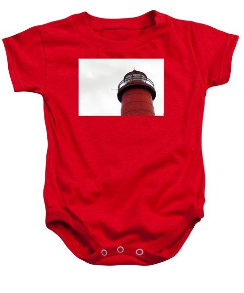 Red Baby Onesie