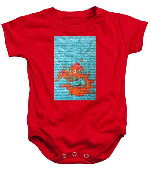 Shock And Awe  Baby Onesie
