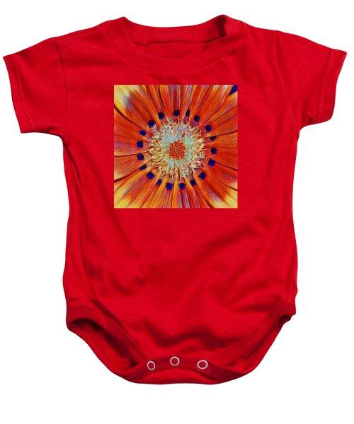 Solar Plexus Bloom Baby Onesie
