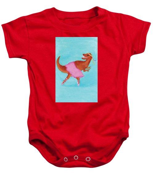 Swan Rex Baby Onesie