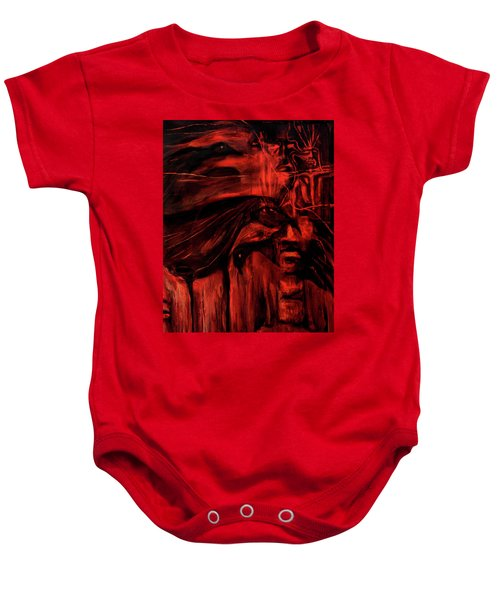 The Shap Shifters Call Baby Onesie