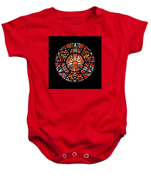 the Sun is Aflame Baby Onesie