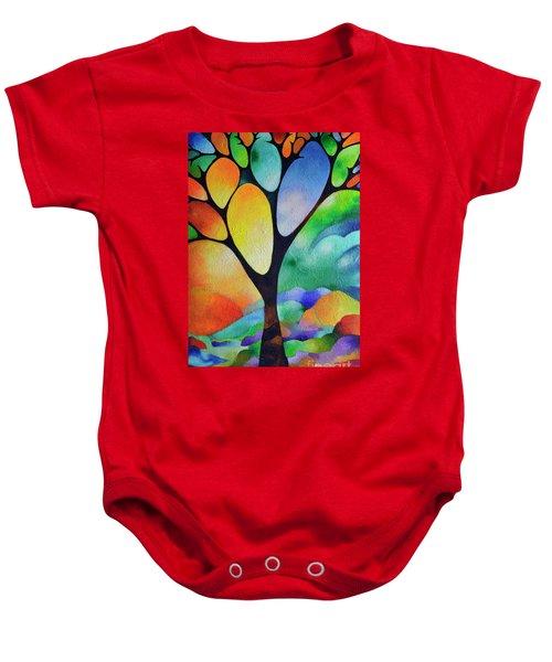 Tree Of Joy Baby Onesie