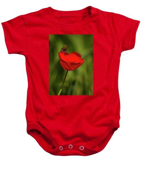Tulip And Skipper Baby Onesie