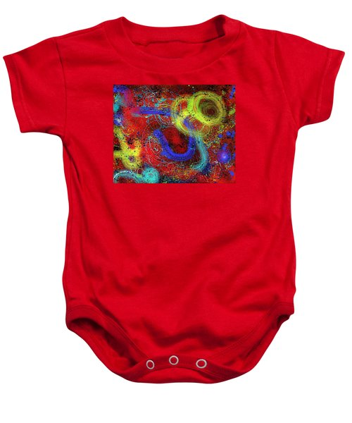 Under The Sea Digital Addition2 Baby Onesie