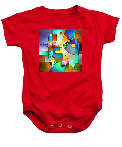 Unified Theory Baby Onesie