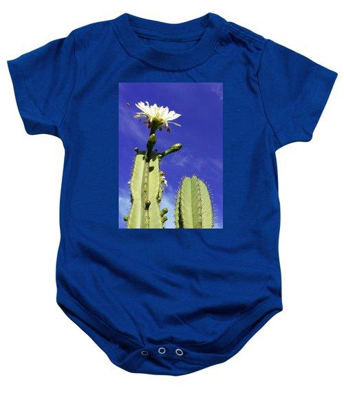 Flowering Cactus 2 Baby Onesie