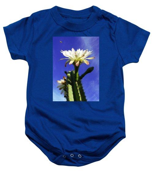 Flowering Cactus 3 Baby Onesie