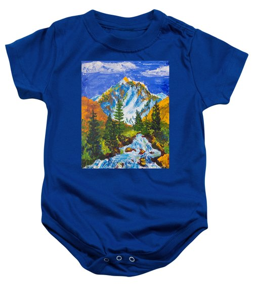 Taylor Canyon Run-off Baby Onesie