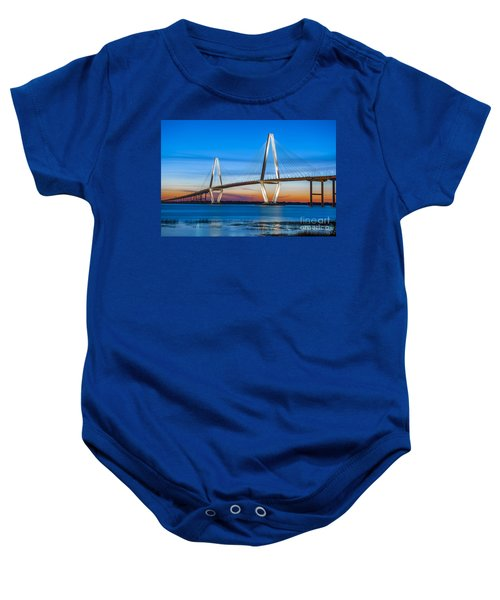 Charleston Arthur Ravenel Bridge Baby Onesie