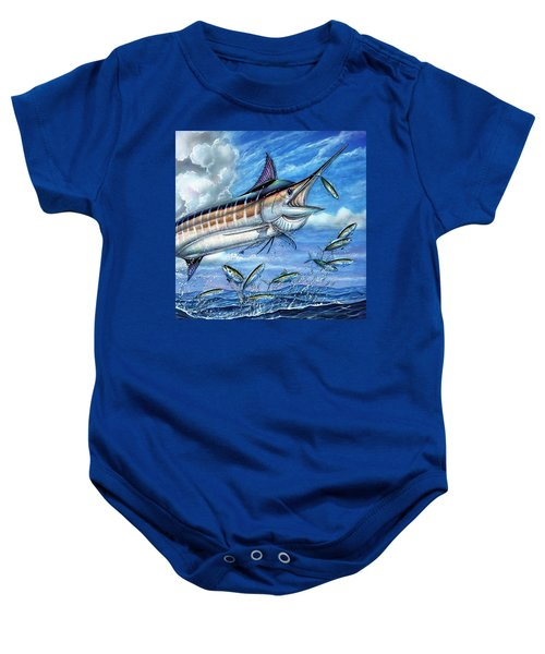 Marlin Queen Baby Onesie
