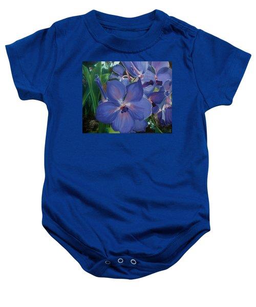 Orchids Baby Onesie