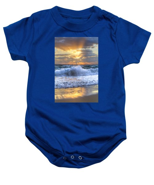 Splash Sunrise Baby Onesie