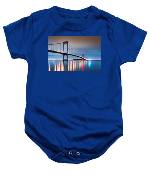Whitestone Bridge Baby Onesie
