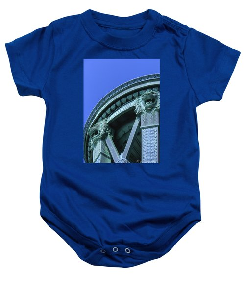 35x11 Perrys Victory Memorial Photo Baby Onesie