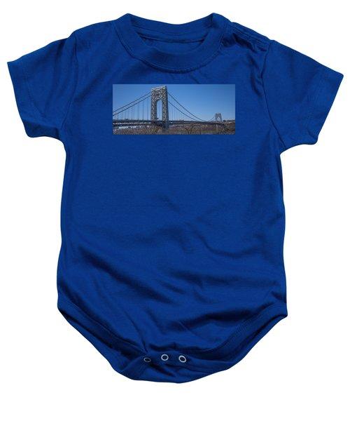 George Washington Bridge Baby Onesie
