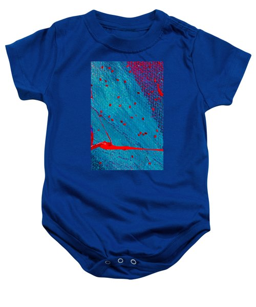 Abstract Original Artwork One Hundred Phoenixes Untitled Number Eleven Baby Onesie