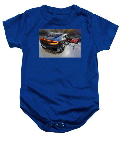 Acura N S X  Concept 2013 Baby Onesie