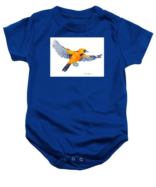 Da200 Altimira Oriole By Daniel Adams  Baby Onesie