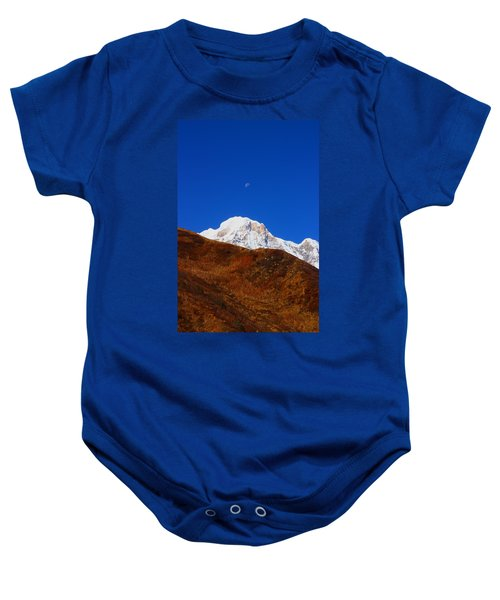 Annapurna South Moon Rise Baby Onesie