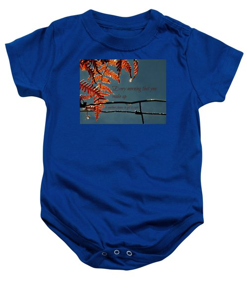 Another Chance Baby Onesie