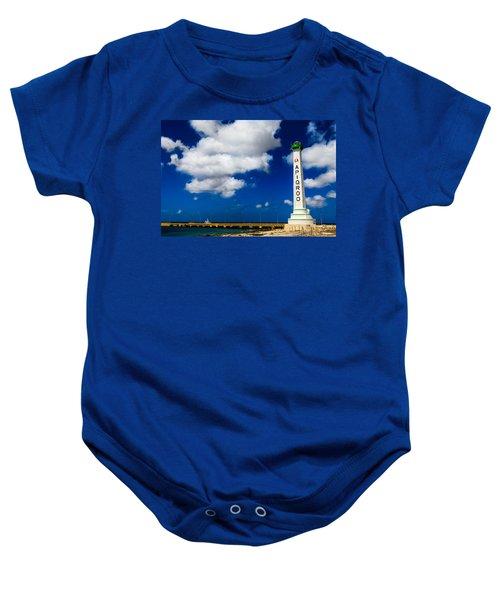 Apigroo Lighthouse Baby Onesie