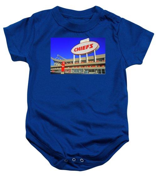 Arrowhead Stadium, Home Of The Kansas Baby Onesie