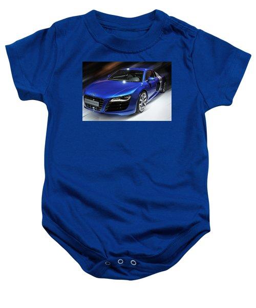 Audi R8 V10 Fsi Baby Onesie