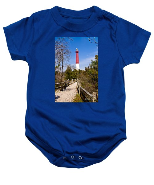 Barnegat Lighthouse II Baby Onesie