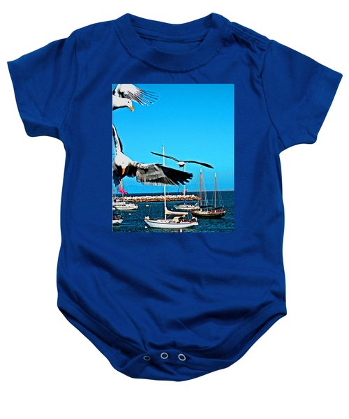 Birds In Paradise Baby Onesie