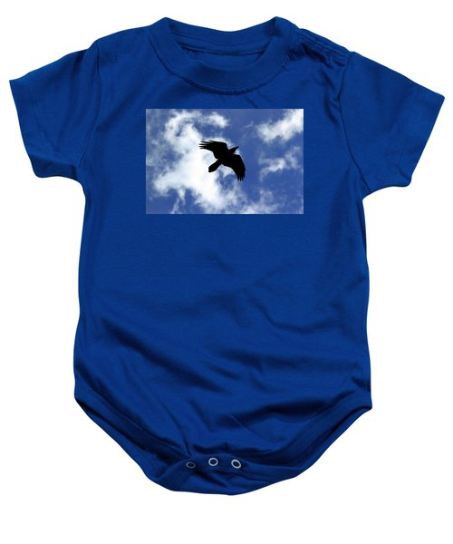 Black Above Baby Onesie
