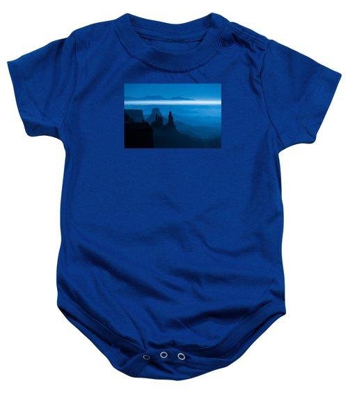 Blue Moon Mesa Baby Onesie