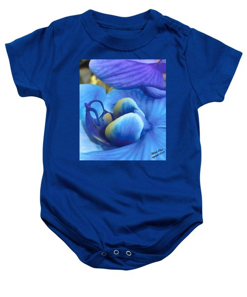 Blue Oasis 2  Baby Onesie