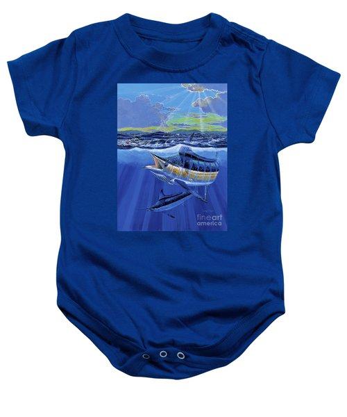 Blue Pitcher Off00115 Baby Onesie
