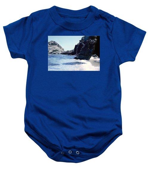 Calming Waves Baby Onesie