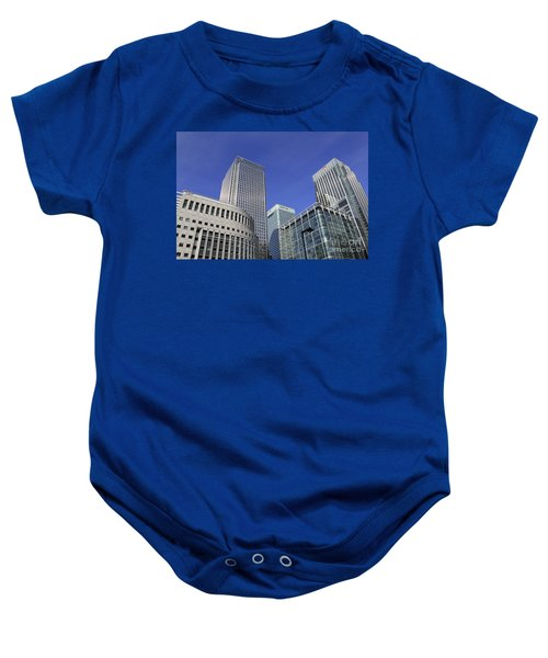 Canary Wharf London Baby Onesie