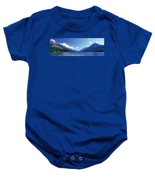 Canoeing Waterton Lake Waterton Glacier Baby Onesie