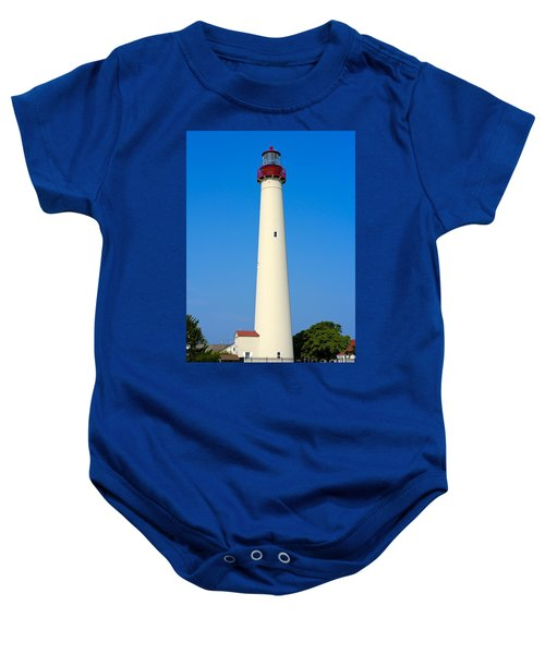 Cape May Lighthouse Baby Onesie