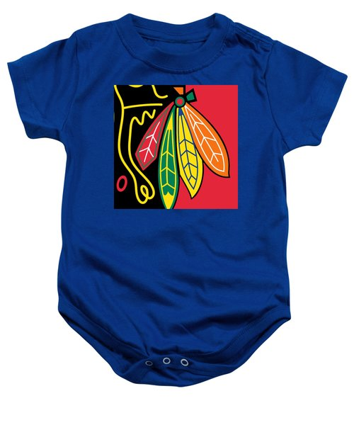 Chicago Blackhawks Baby Onesie