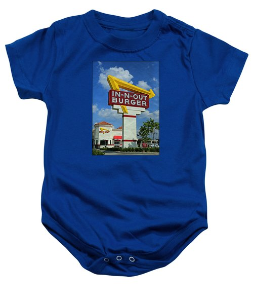 Classic Cali Burger 1.1 Baby Onesie