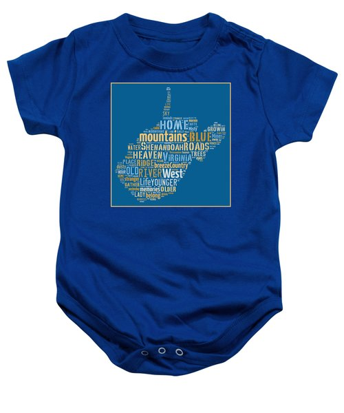 Country Roads 3 Baby Onesie